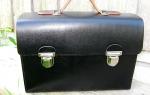 Leder-Koffer